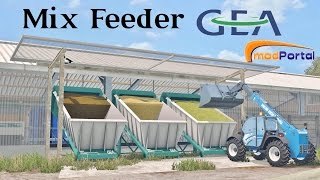 Farming Simulator 15 Presentazione Mix Feeder GEA