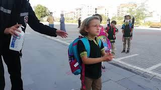 Nevşehir'de İlk Ders Zili Çaldı