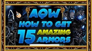 getlinkyoutube.com-AQW - How to get 15 AMAZING Non Mem Non ACs Cool Armors!
