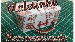 getlinkyoutube.com-DIY | Como fazer Maletinha De papel - lembrancinha personalizada - Passo a passo
