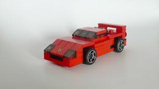 getlinkyoutube.com-LEGO Ferrari F40 Instructions