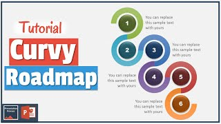 getlinkyoutube.com-How to Create Curvy PowerPoint Road Map : Diagram Tutorial Series