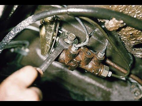 Регулятор давления задних тормозов. Регулировка. ВАЗ 2110-2112.