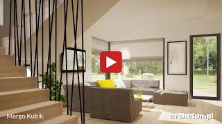 getlinkyoutube.com-Projekt domu Margo Kubik, 161,6 m2, wirtualny spacer - archeton.pl