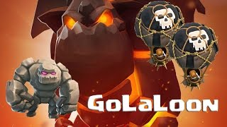 getlinkyoutube.com-[WAR 57] TH9 v TH9 - GoLaLoon 3 Stars