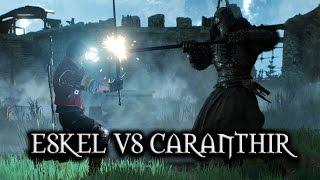 getlinkyoutube.com-The Witcher 3: Wild Hunt - Eskel vs Caranthir