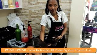 Passo a Passo - Semi Definitiva 3D Power System Forever Liss