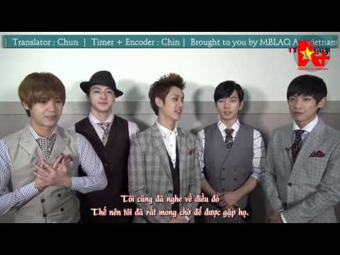 [Vietsub] Official 2014 KCF - Greeting MBLAQ [AplusVNTeam]