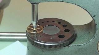 getlinkyoutube.com-Burnishing pivots & fitting a wheel