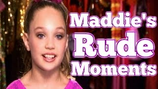 Dance Moms: Maddie Ziegler's RUDE Moments