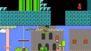 Super Mario Bros X. (Battle Level) Mushroom Kingdom 64