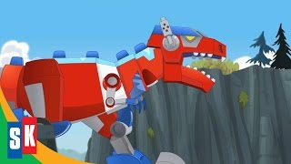getlinkyoutube.com-Transformers Rescue Bots: Dinobots! Official Trailer #1
