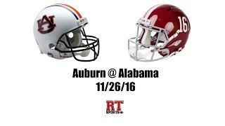 getlinkyoutube.com-Auburn Tigers at Alabama Crimson Tide in 30 Minutes - 11/26/16