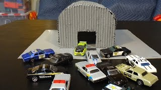 getlinkyoutube.com-Cars Living Fast and Furious - Hot Wheels and Micro Drifters - Police Chase