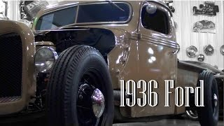 getlinkyoutube.com-Custom 1936 Ford Hot Rod Pickup V8