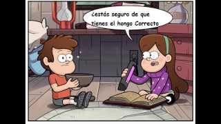 getlinkyoutube.com-Comic de gravity falls Dipper-Mabel