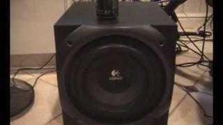Logitech Z-5500 THX Bass Tests