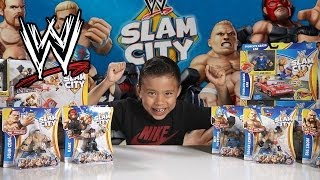 WWE SLAM CITY Figure Review - Superstar STOP MOTION ACTION!!