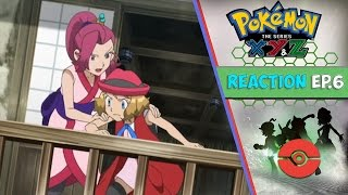 Pokemon XYZ Anime Reaction Ep. 6 - Welcome to the Ninja Village! The Legend of the Heroic Greninja!!