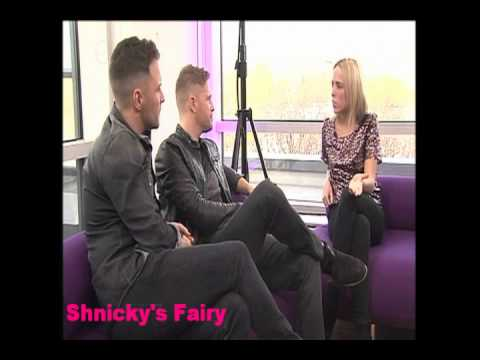 Westlife Shane Filan &amp; Nicky Byrne on OK!TV (28 Nov 2011)