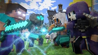 getlinkyoutube.com-Batalha no Mega Walls - FILME (Minecraft Animation)