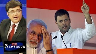 getlinkyoutube.com-Rahul Gandhi Crossed The Line With 'Khoon Ki Dalali' Comment?: The Newshour Debate (6th Oct)