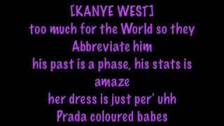 Nicki Minaj - Blazin' ft. Kanye West with lyrics - PINK FRIDAY