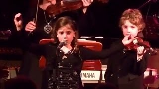 Amira Willighagen - Nella Fantasia - 17/11/2012 - Then only 8 years old