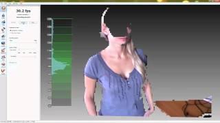 getlinkyoutube.com-[Artec 3D Scanner] Scanning with Kinect