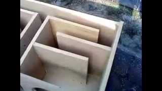 getlinkyoutube.com-(DIY) How to Build a  T- line Speaker box (part 2 box)