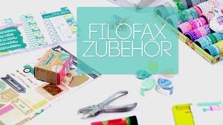 getlinkyoutube.com-Filofax Setup Zubehör  I Washi Tape I Clipbook I Filofax Notebook I German Deutsch