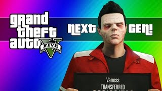getlinkyoutube.com-GTA 5 Next Gen Funny Moments - Zombie Face, First Person, Twist Glitch, New Plane, & More!