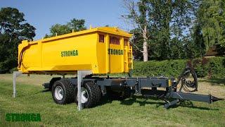 Stronga SwapLoada 600 swap module trailer system