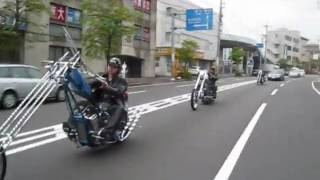 getlinkyoutube.com-We love chopper! [WILD SIDE m.c  YOKOHAMA] We are Biker,tubes, MADE IN BEE