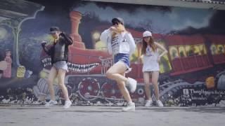 getlinkyoutube.com-shuffle dance - #babybaby - Lykio / Moon Hồ / Mai Quỳnh Anh