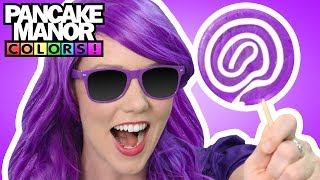 PURPLE SONG ♫| Learning Colors | Kids and Baby Songs | Pancake Manor