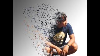 disintegration Effect Tutorial Bahasa Indonesia