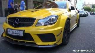 getlinkyoutube.com-LOUD Mercedes-Benz C63 AMG Coupe Black Series w/ MHP Exhaust!