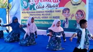 Tari badindin festival anak sholeh 2016_2017  caberawit bumi ayu kalaena width=