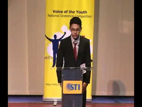 Voice of the Youth National Oratorical Competition - Contestant #6