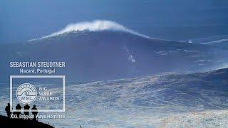 getlinkyoutube.com-Sebastian Steudtner at Nazare - 2015 XXL Biggest Wave Nominee - WSL Big Wave Awards