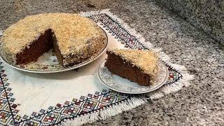 getlinkyoutube.com-كيكة عادية اقتصادية بالشوكولاتة و الكوكو خفيفة , سهلة ورائعة  من المطبخ المغربي مع ربيعة