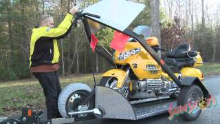 getlinkyoutube.com-Baxley SB001 Motorcycle Trailer Review