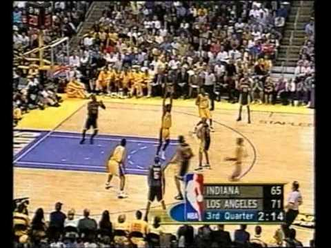 Mark Jackson awesome pass to Dale Davis Finals 2000