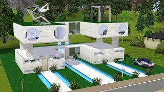 getlinkyoutube.com-The Sims 3 - Building Smart Home (Into The Future)