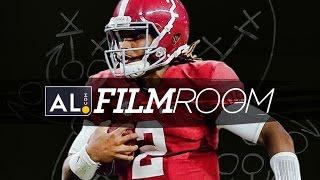 getlinkyoutube.com-Film Room: Examining Jalen Hurts' Debut as Alabama Quarterback