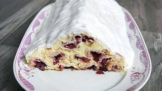 getlinkyoutube.com-Bebina kuhinja - Piramida - Torta od višanja - Domaći video recept