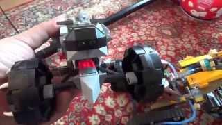 getlinkyoutube.com-레고 키마 왁츠의 트럭, 늑대의 모습을 닮은 멋진 정품 장난감의 모습