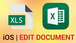 How to Edit an Existing Document in Excel for iPhone