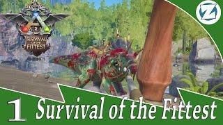 getlinkyoutube.com-Ark Survival Of The Fittest - E1 - Danger Team Zuelg8r